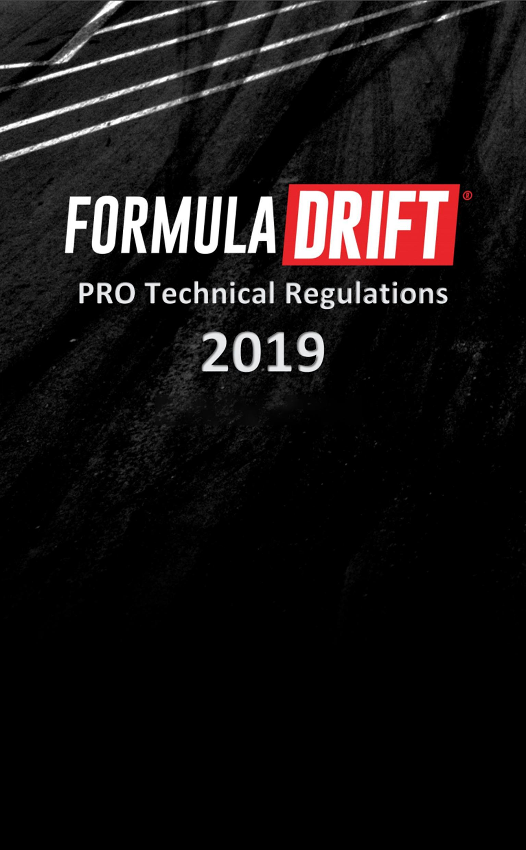 Formula DRIFT - FD Rulebook